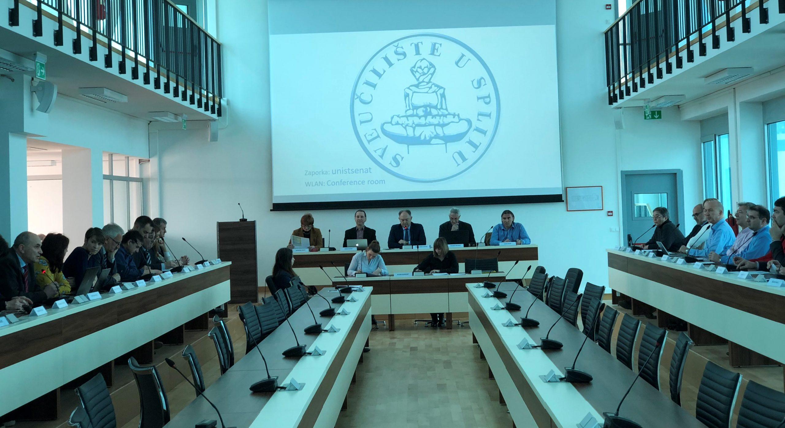 Sveučilište u Splitu – multimedijska oprema